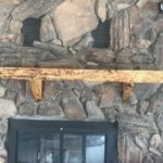 Customized Rustic Fireplace Mantel