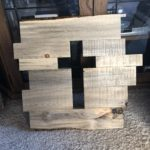 Cut Out Cross Wall Decor